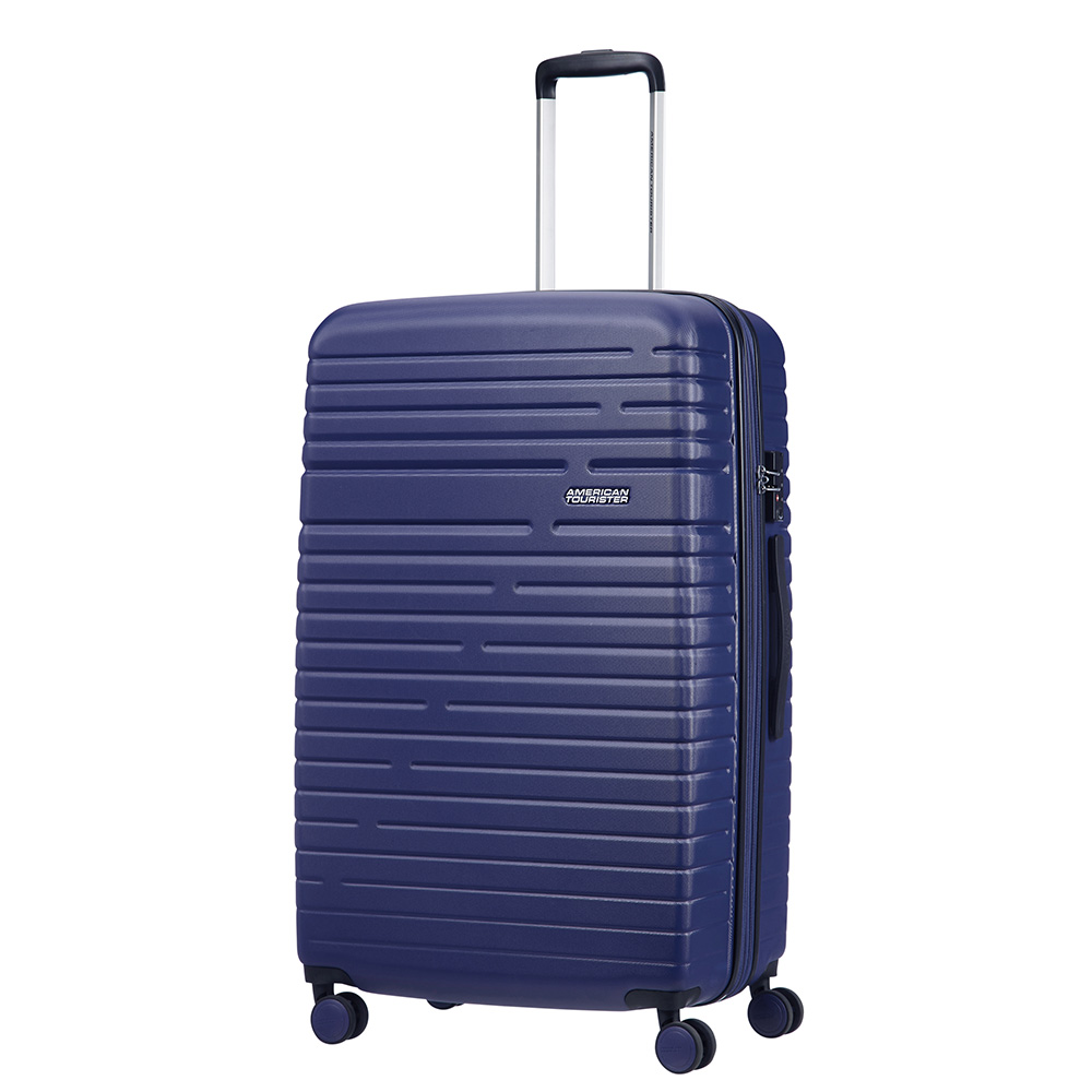 Afbeelding van American Tourister Aero Racer Spinner 79 Expandable Nocturne Blue Harde Koffers