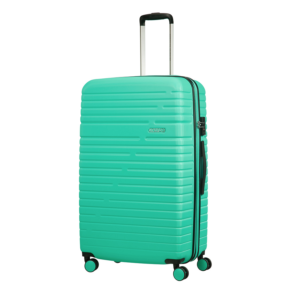 Afbeelding van American Tourister Aero Racer Spinner 79 Expandable Mint Harde Koffers