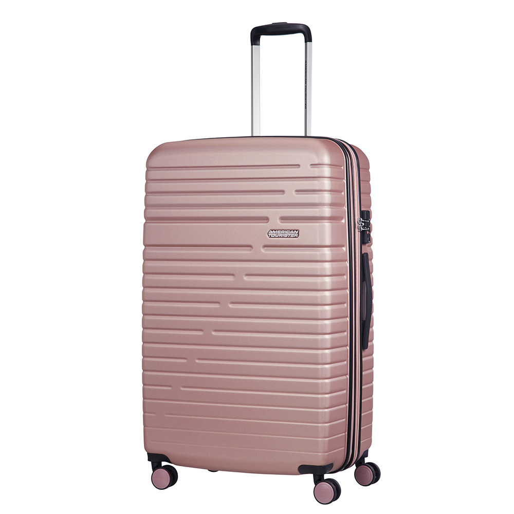 Afbeelding van American Tourister Aero Racer Spinner 79 Expandable Rose Pink Harde Koffers