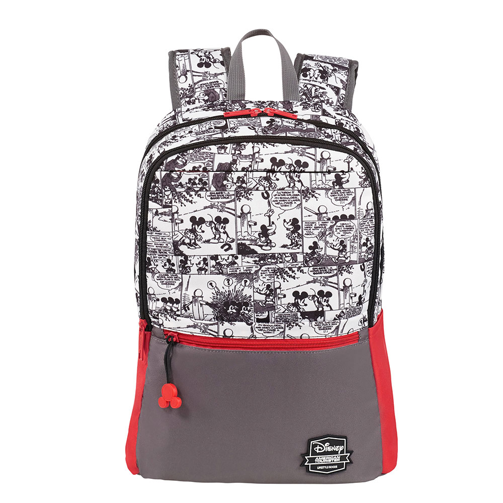 American Tourister Urban Groove Disney Backpack M Mickey Comics Red