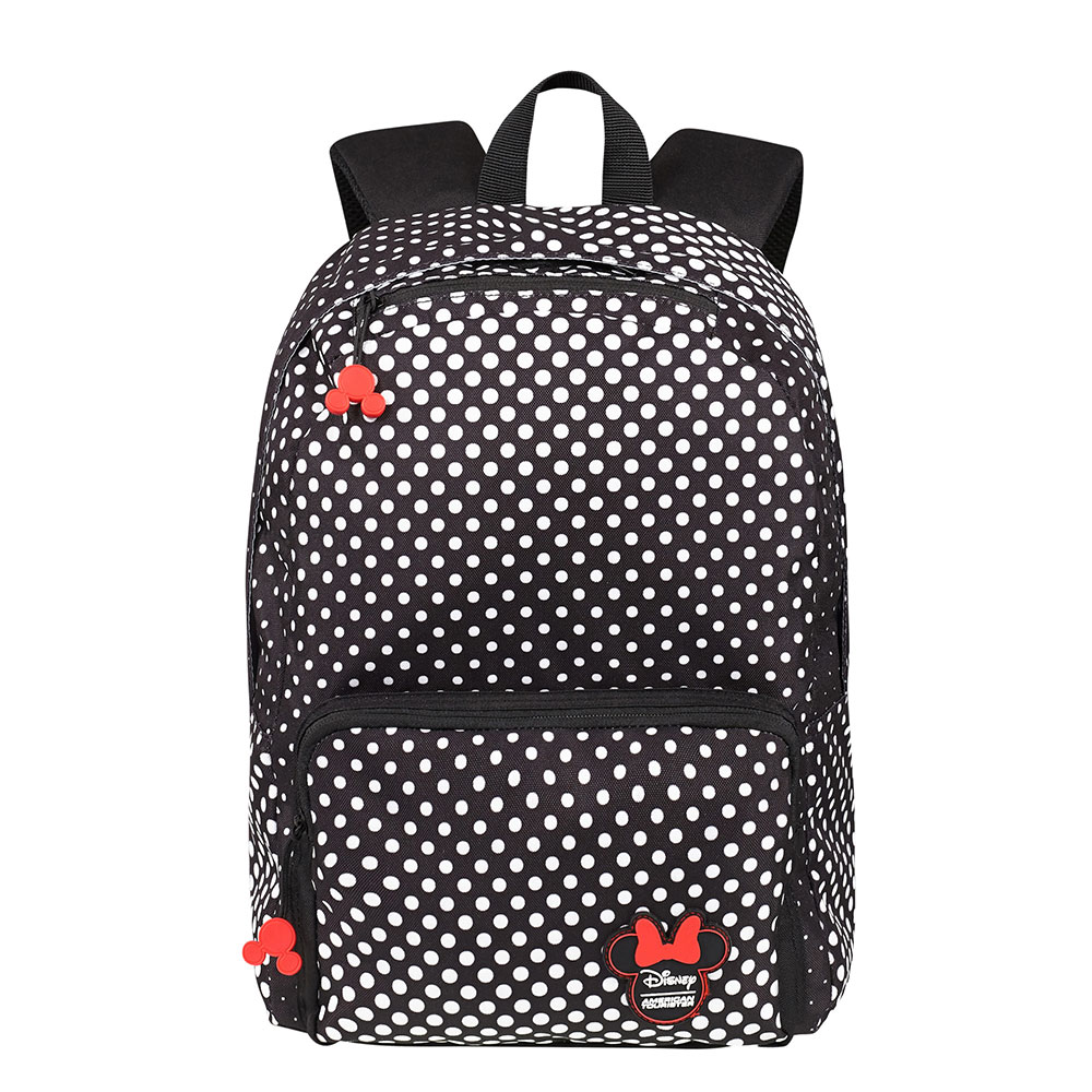 American Tourister Urban Groove Disney Lifestyle Backpack Minnie Mouse Polka Dot