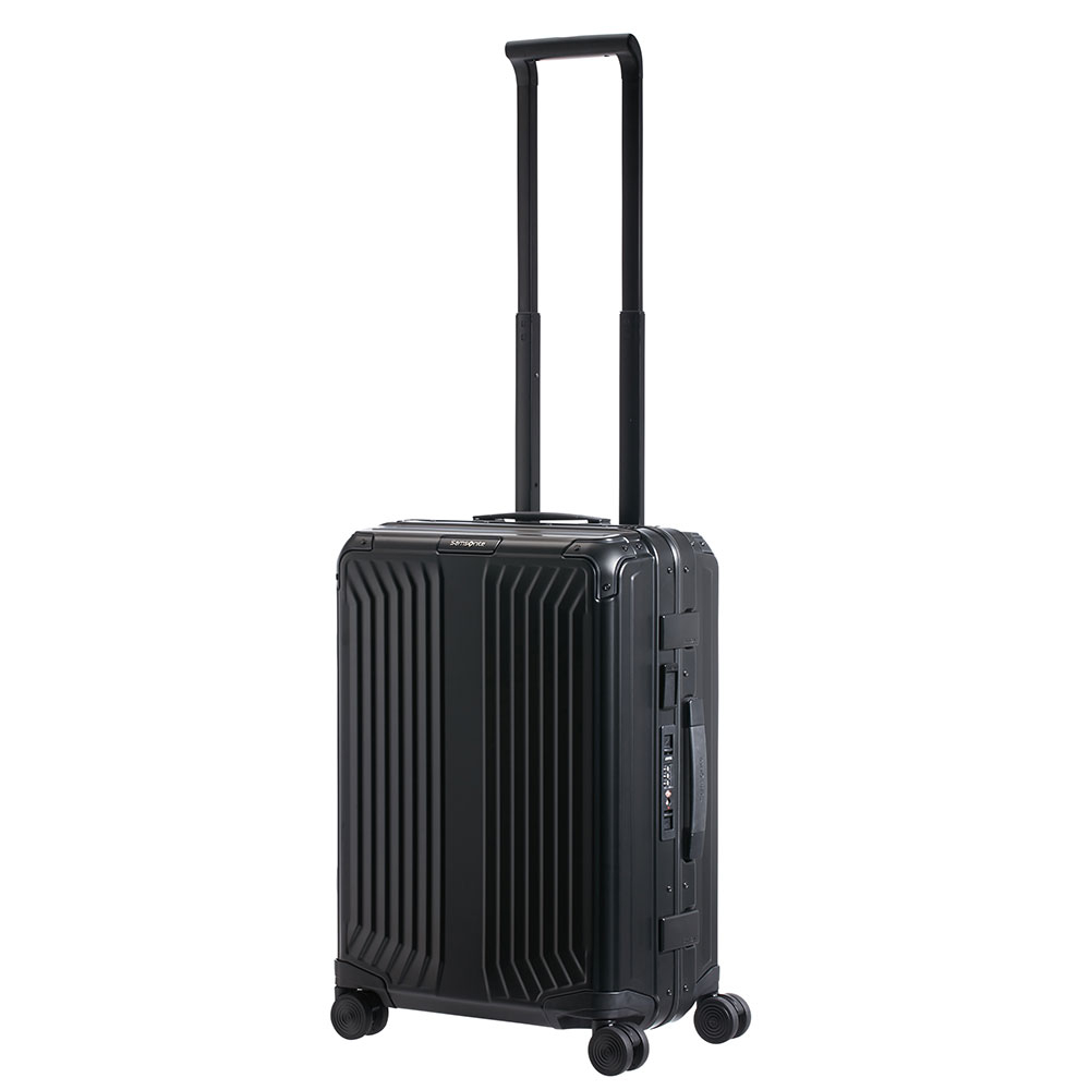 Samsonite Lite-Box Alu Spinner 55 Black