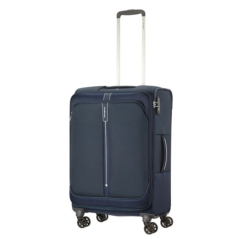 Samsonite Popsoda Spinner 66 Exp Dark Blue