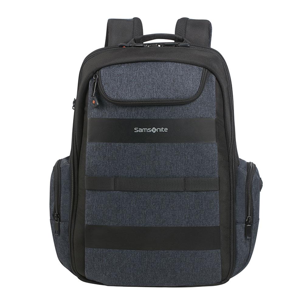 Samsonite Bleisure Backpack 15.6 Expandable Daytrip Dark Blue