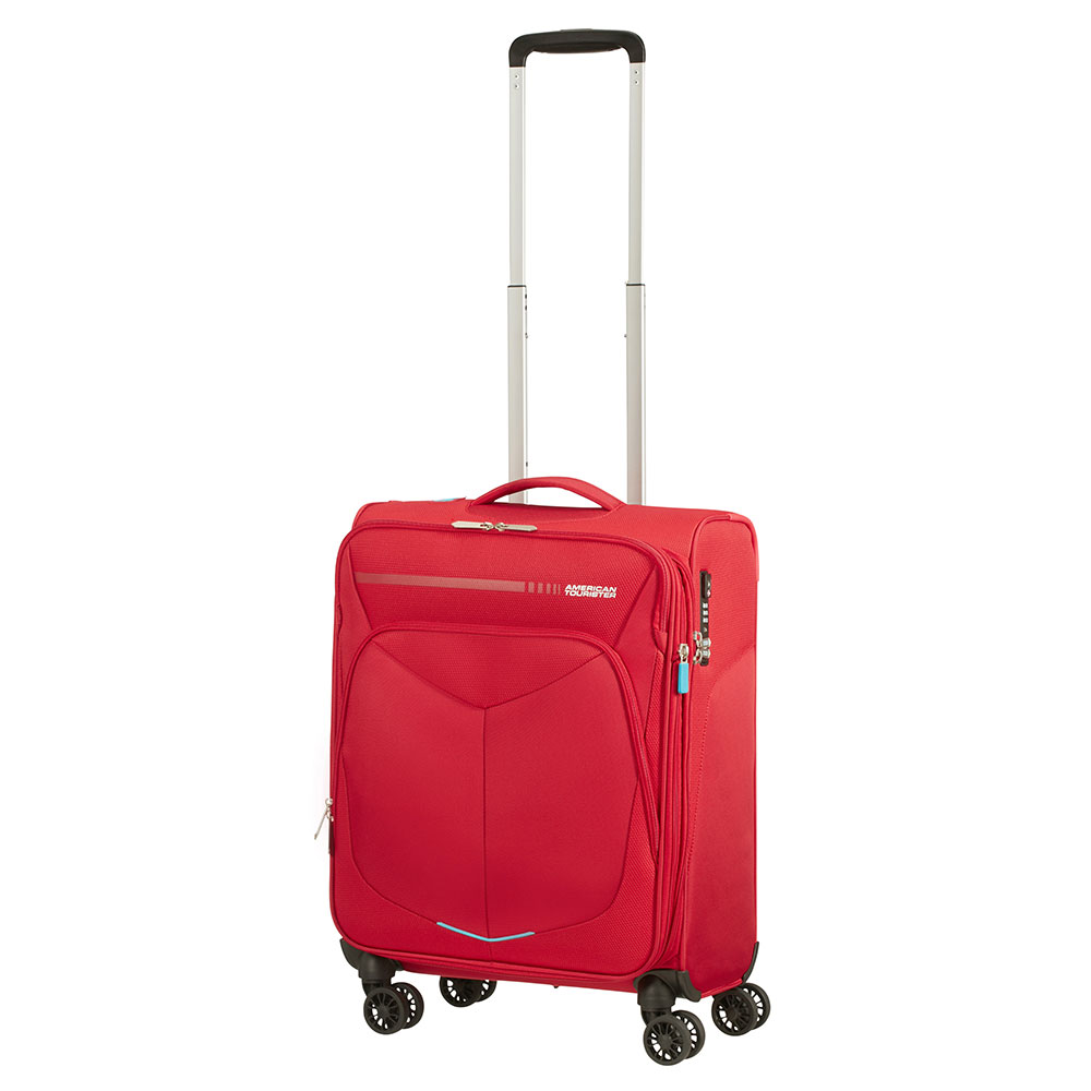 American Tourister Summerfunk Spinner 55 Exp Red