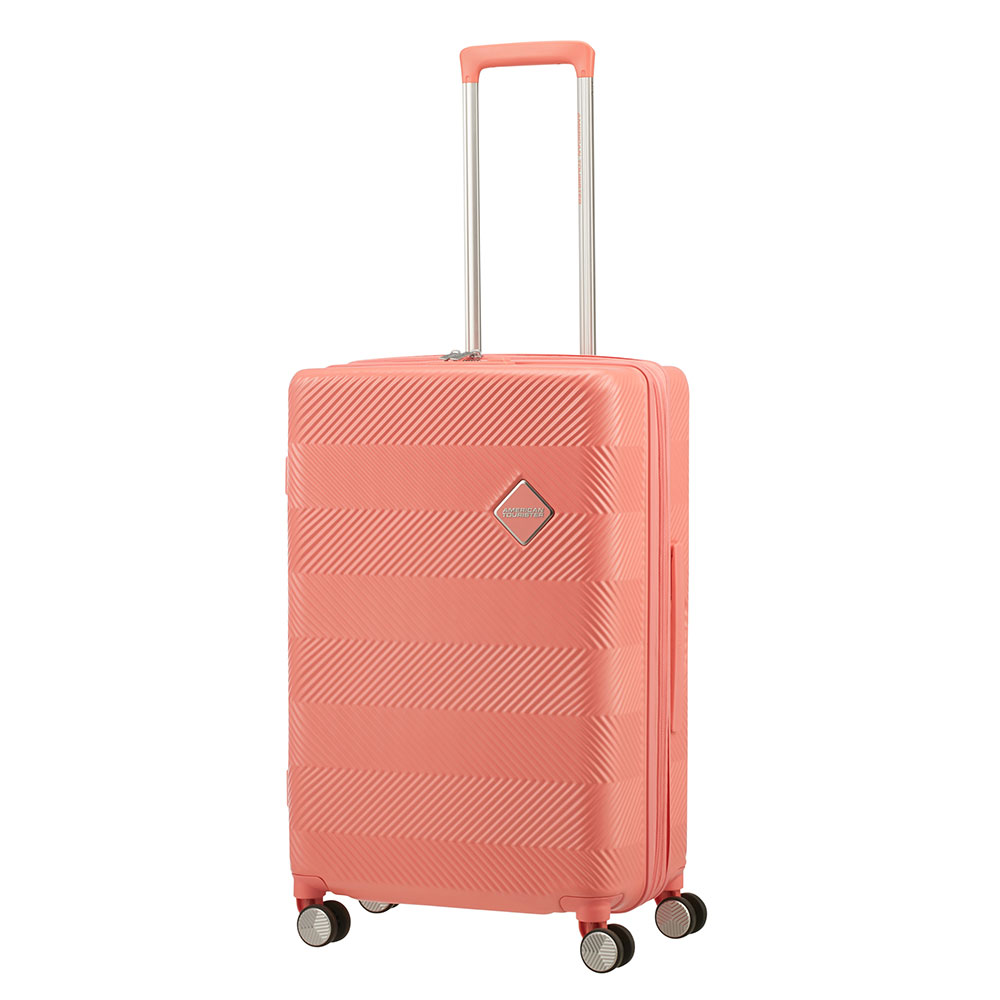 American Tourister Flylife Spinner 67 Exp Coral Pink