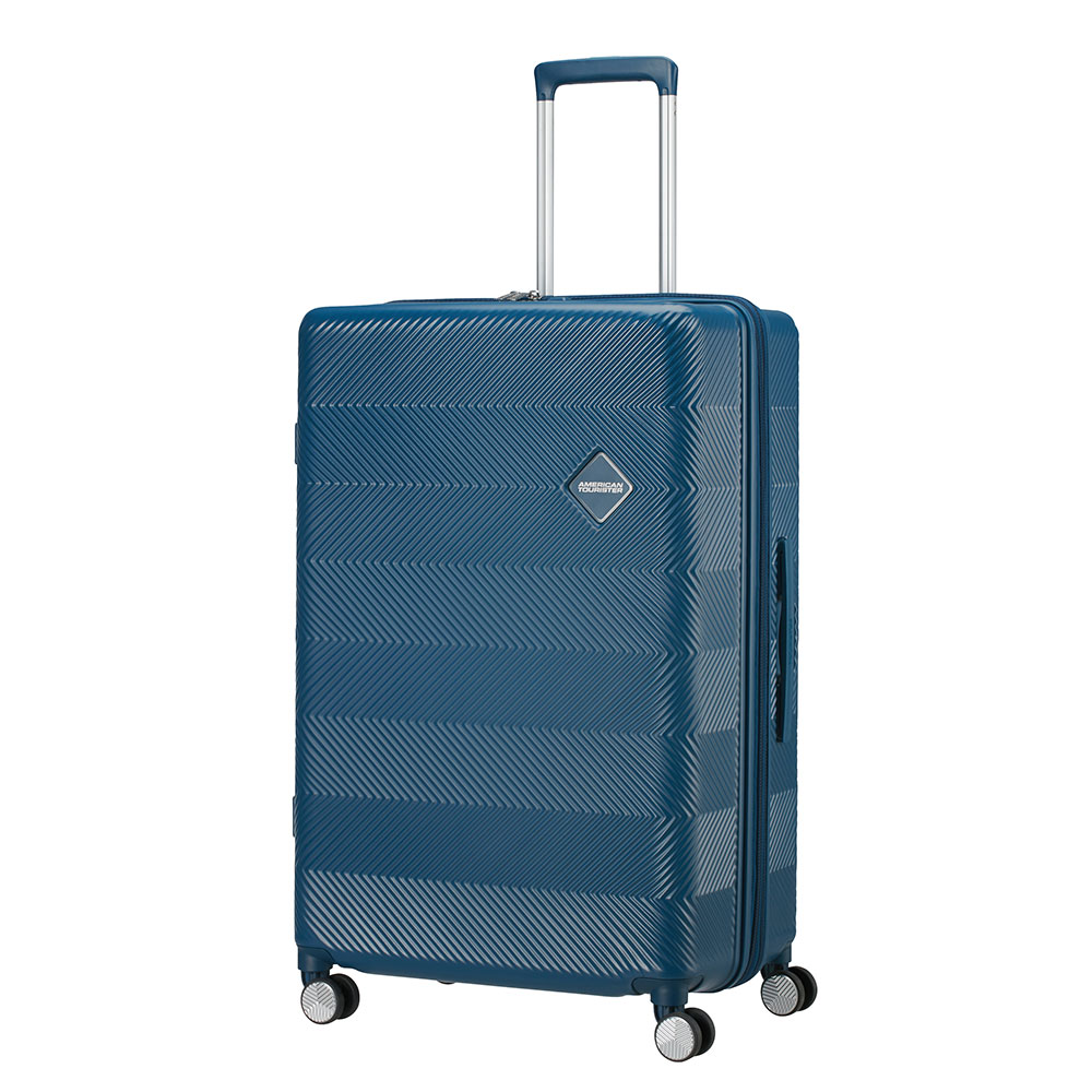 American Tourister Flylife Spinner 77 Exp Petrol Blue