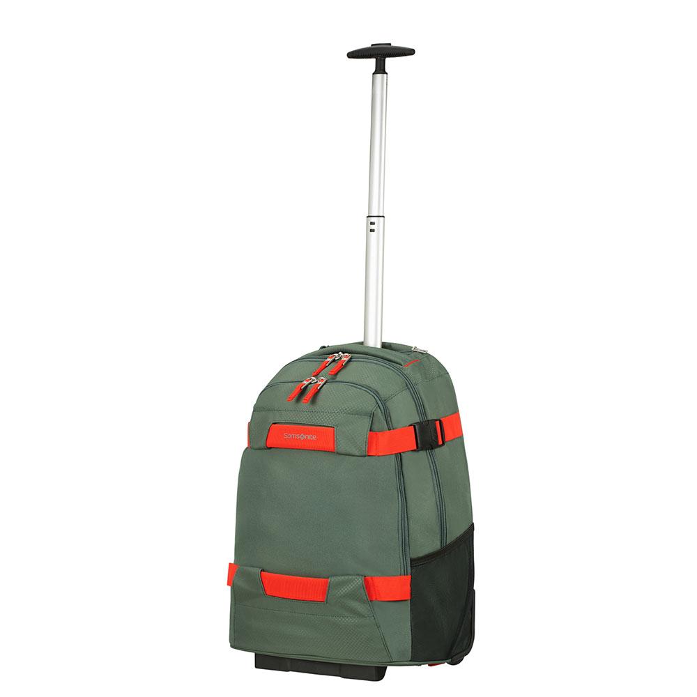 Samsonite Sonora Laptop Backpack Wheels 55 Thyme Green