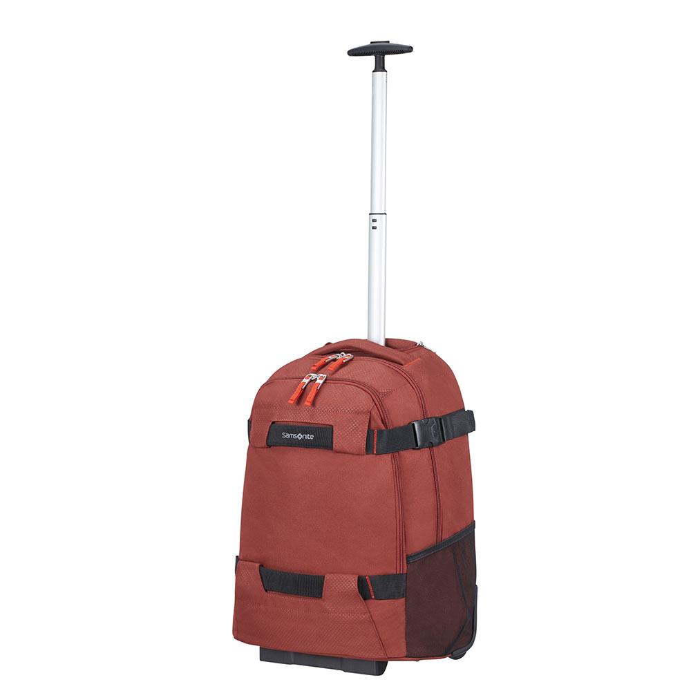 Samsonite Sonora Laptop Backpack Wheels 55 Barn Red