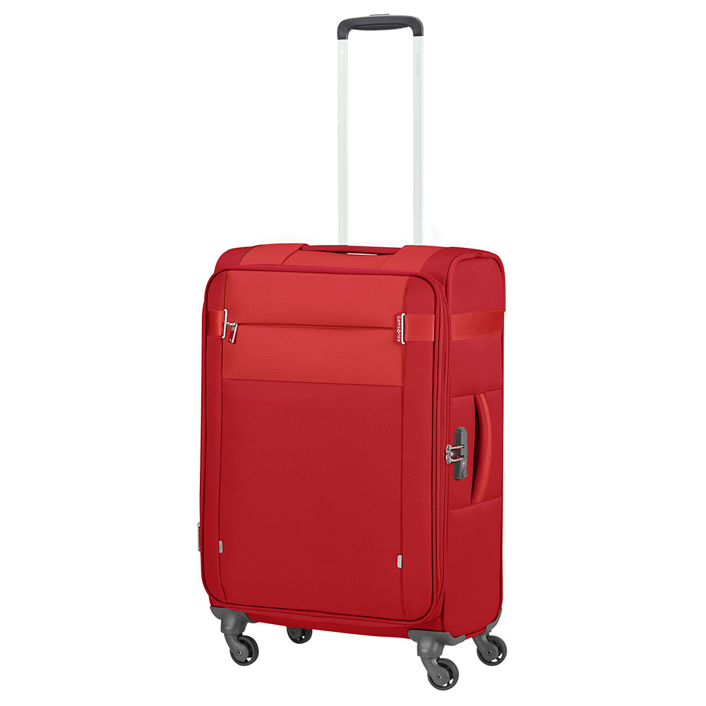 Samsonite Citybeat Spinner 66 Exp Red