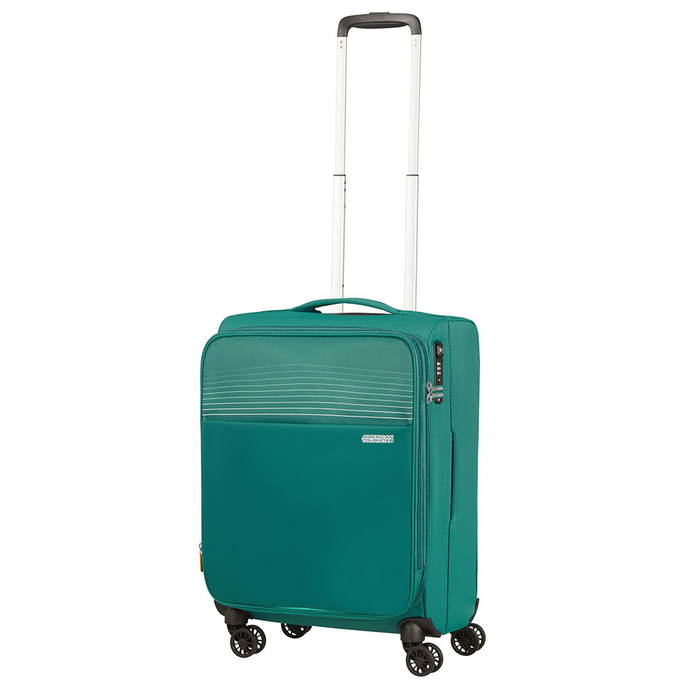 American Tourister Lite Ray Spinner 55 Expandable Forest Green