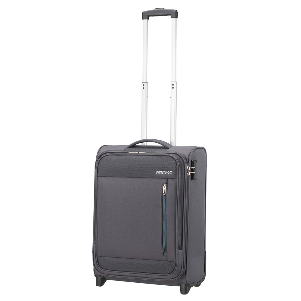 American Tourister Heat Wave Upright 55 Charcoal Grey