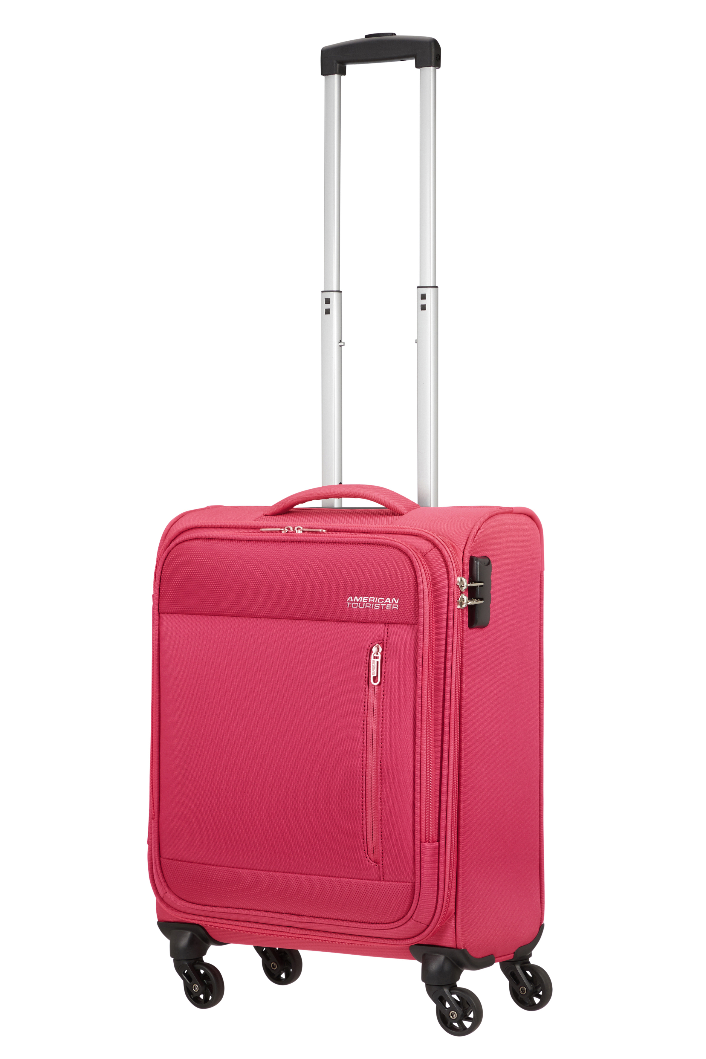 American Tourister Heat Wave Spinner 55 Magenta