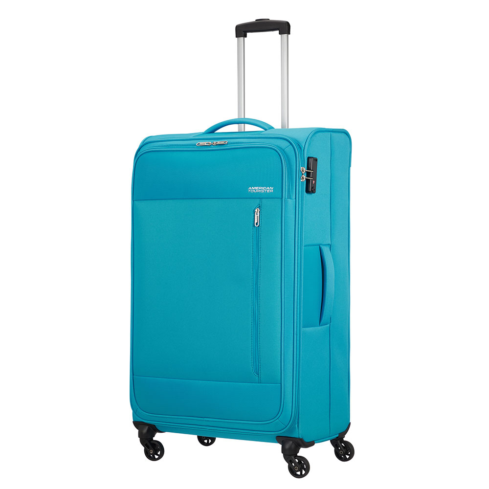 American Tourister Heat Wave Spinner 80 Sporty Blue
