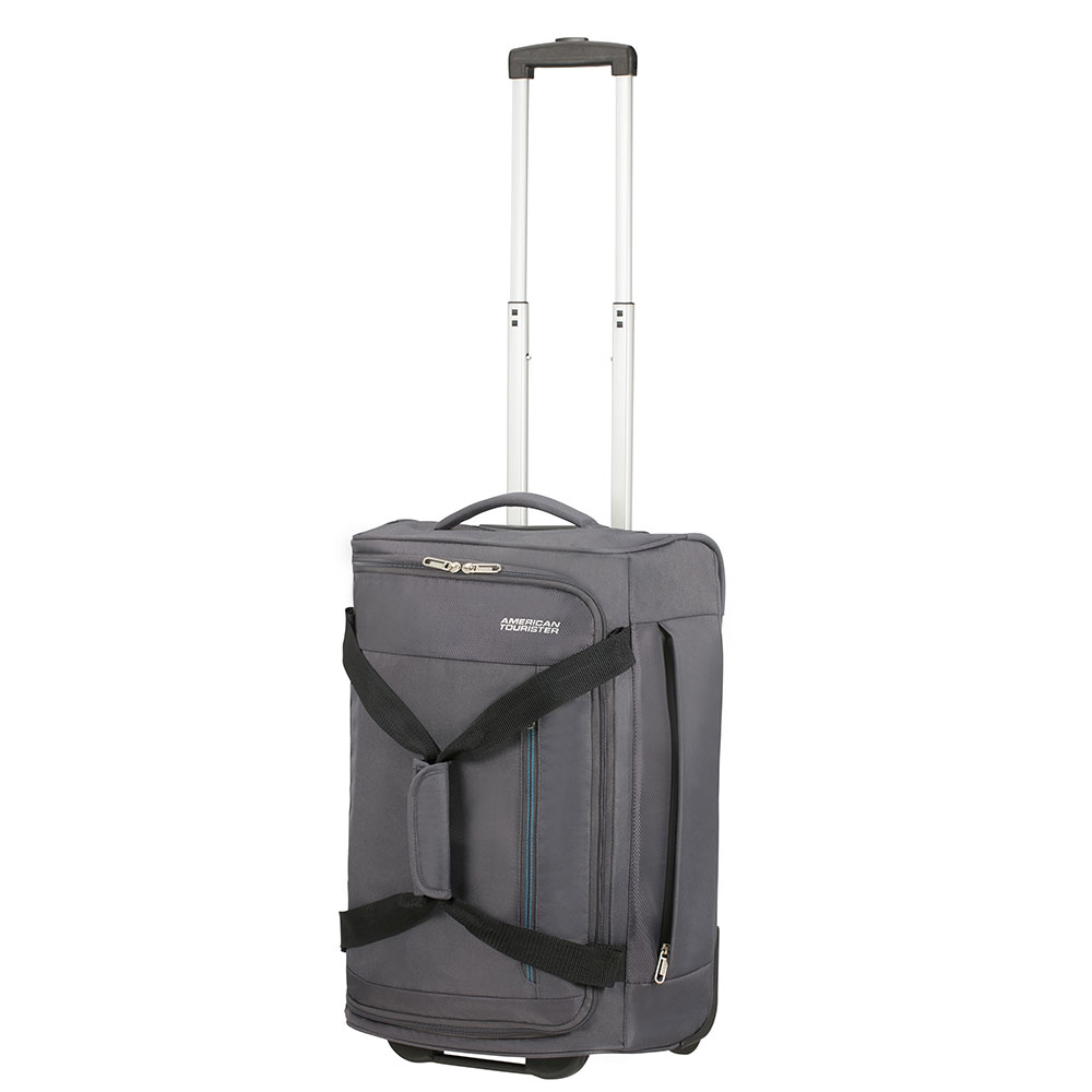 American Tourister Heat Wave Duffle Wheels 55 Charcoal Grey