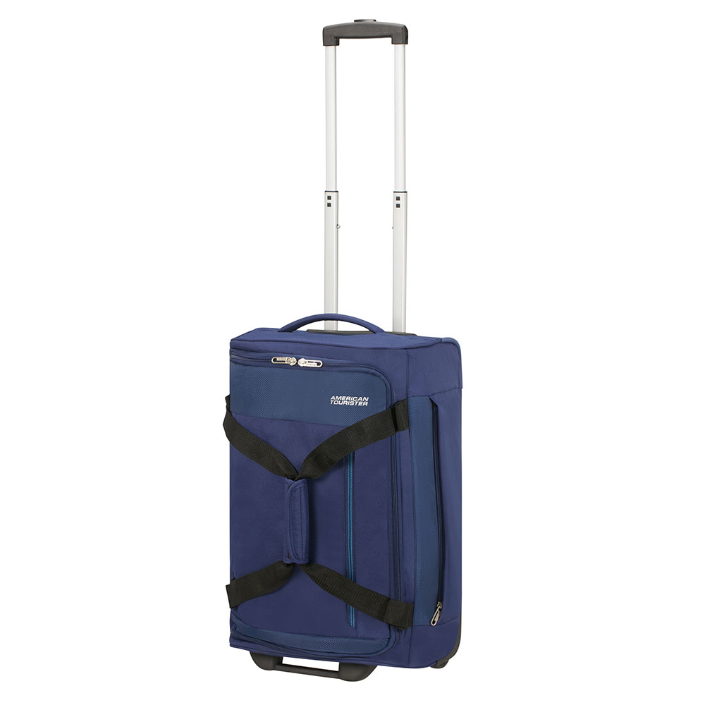 American Tourister Heat Wave Duffle Wheels 55 Combat Navy