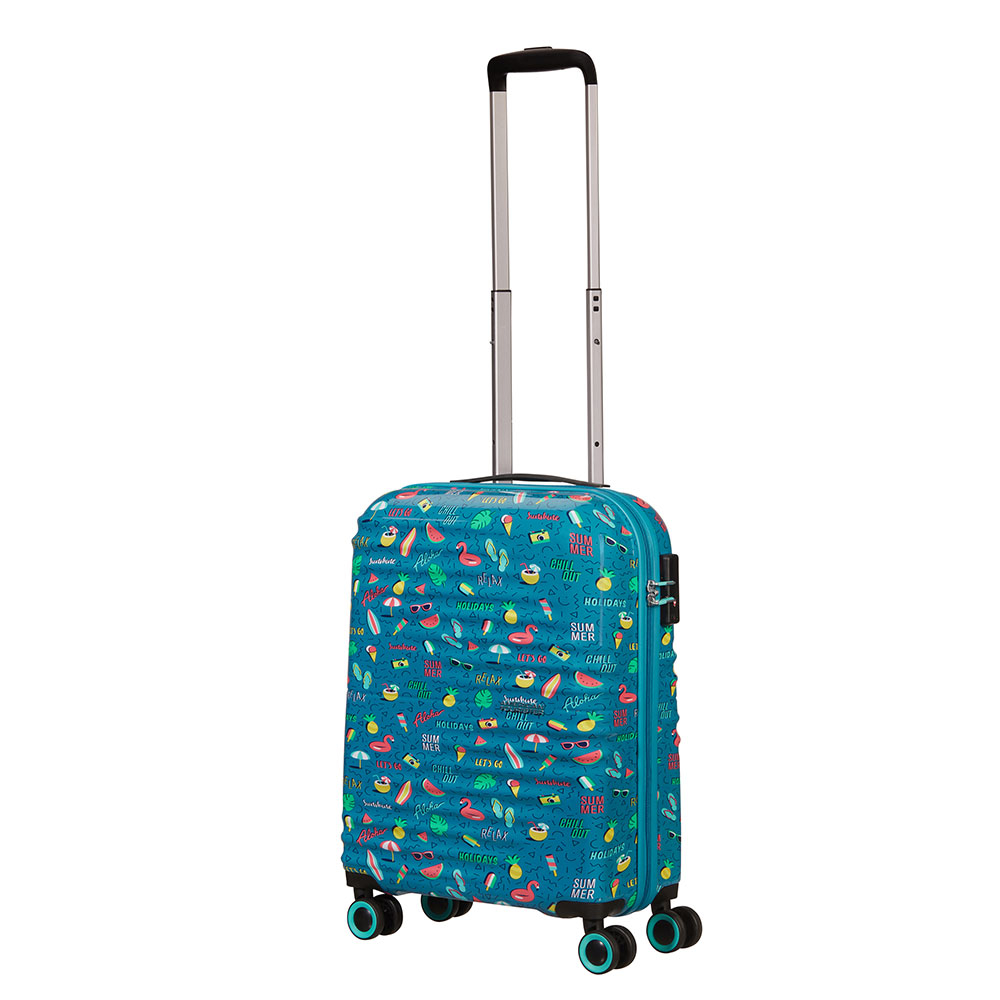 American Tourister Wavetwister Spinner 55 Summer Relax
