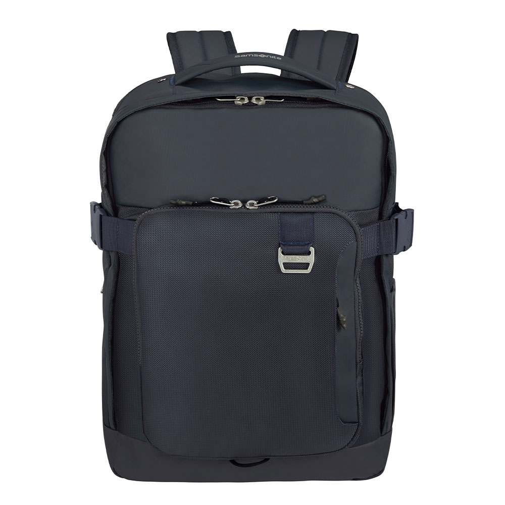 Samsonite Midtown Laptop Backpack L 15.6 Expandable Dark Blue