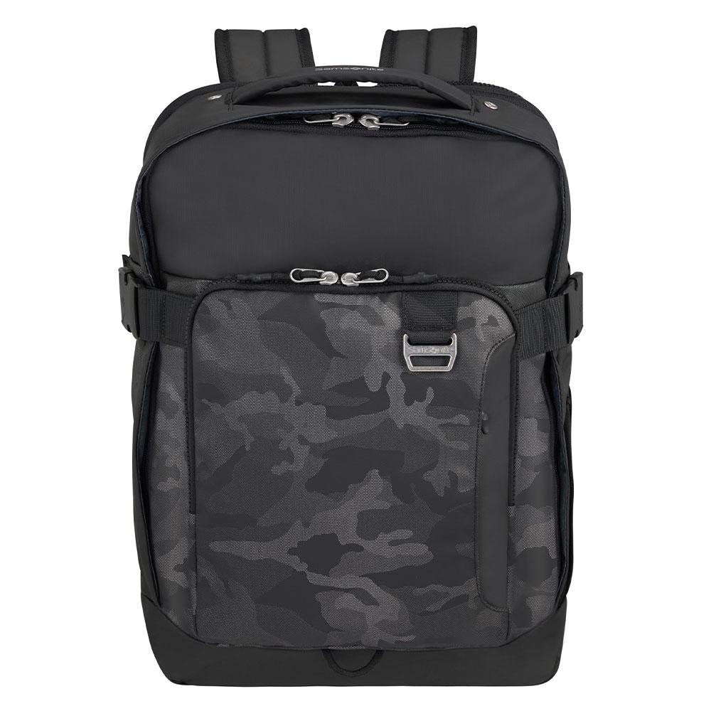 Samsonite Midtown Laptop Backpack L 15.6 Expandable Camo Grey
