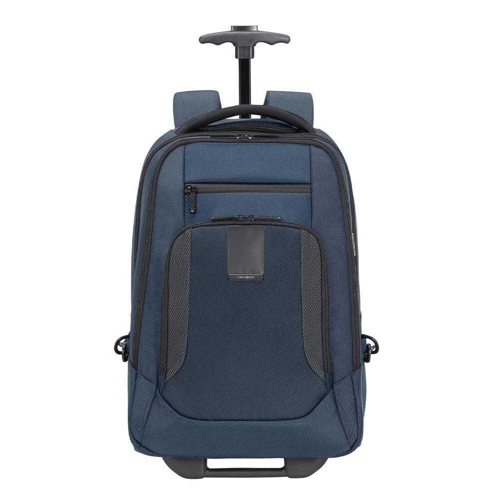 Samsonite Cityscape Evo Laptop Backpack Wheels 15.6 Blue
