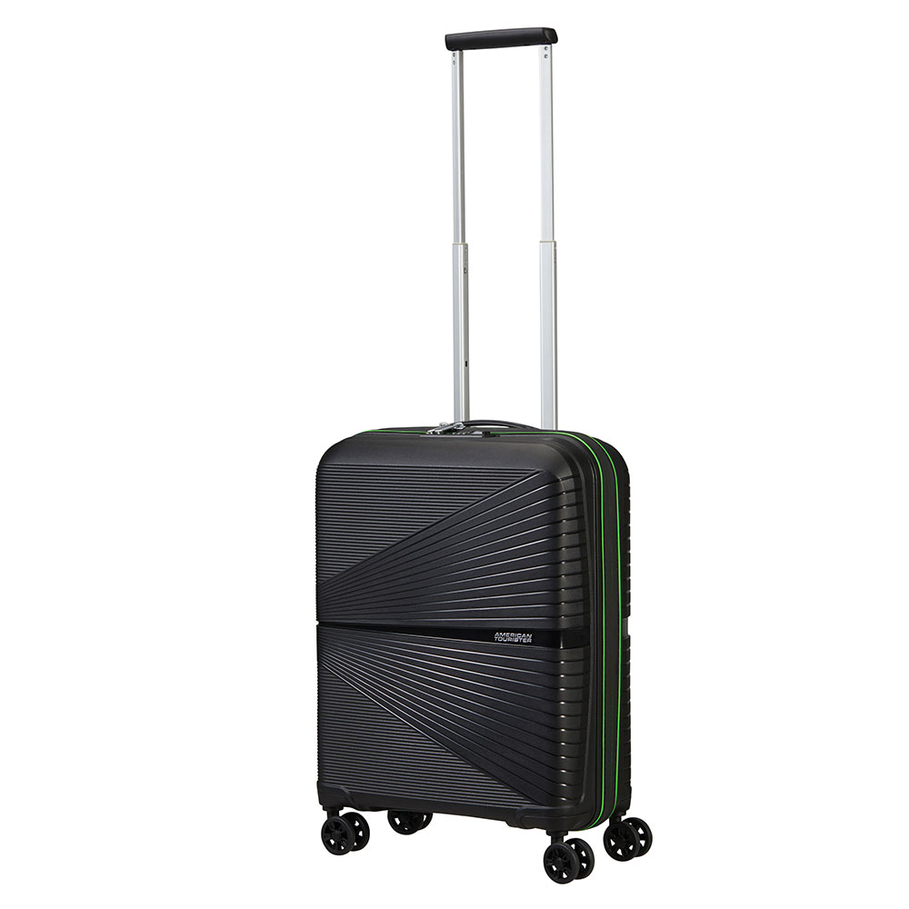 American Tourister Airconic Spinner 55 Black - Acid Green