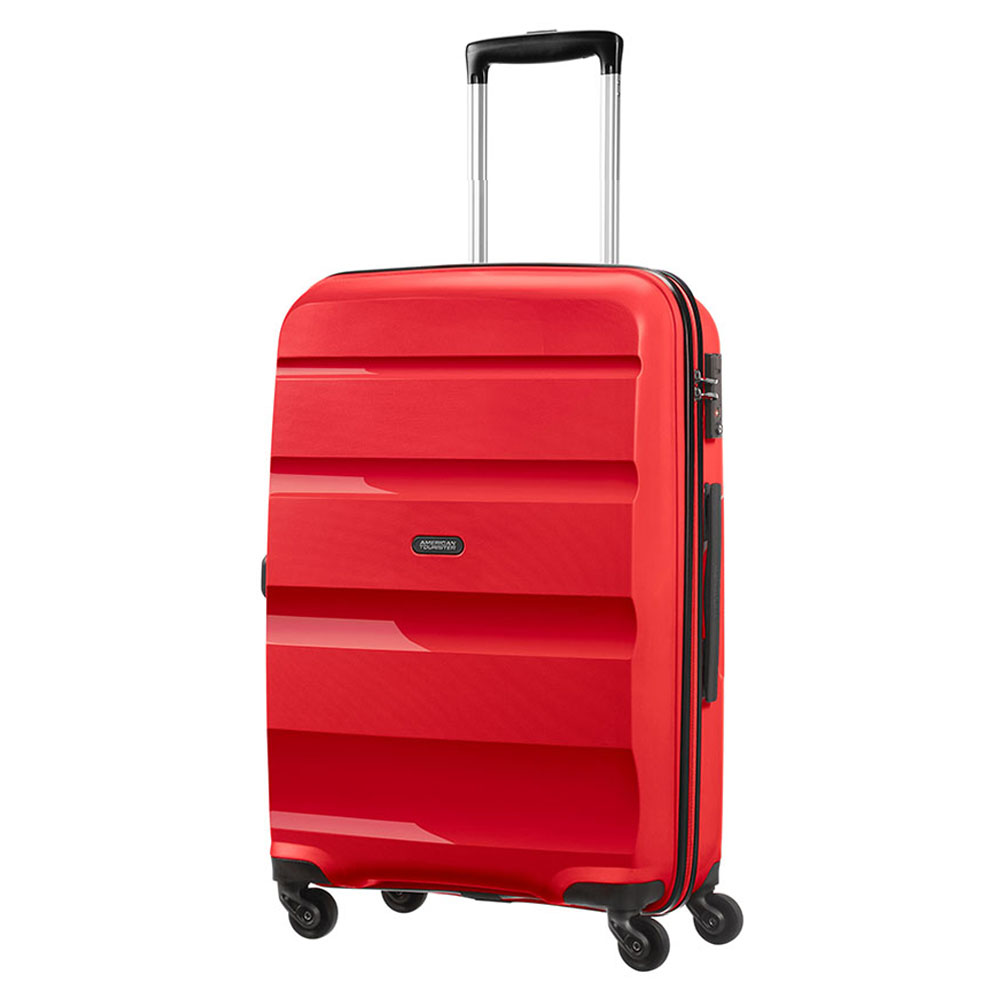 Harde Koffers American Tourister American Tourister Bon Air Spinner M Magma Red