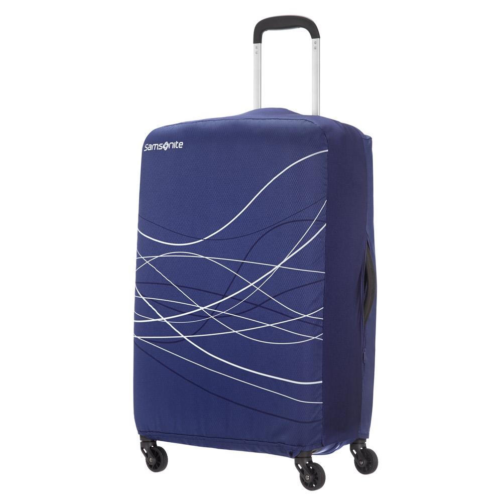 Samsonite Travel Accessoires Opvouwbare Kofferhoes M Indigo Blue