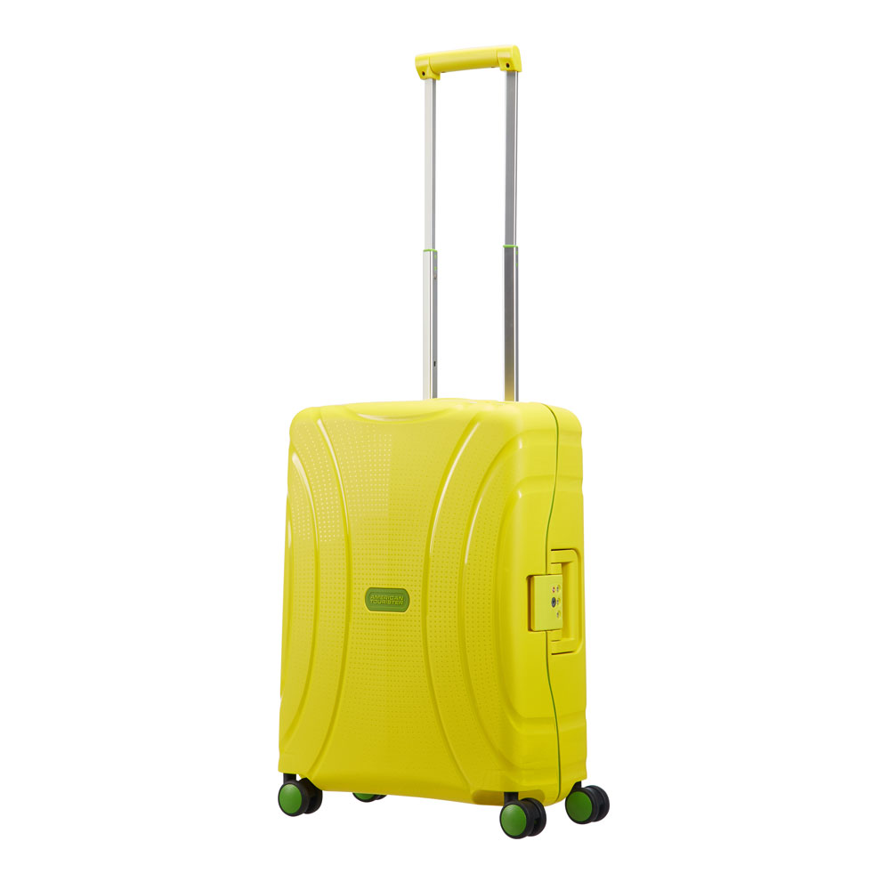 American Tourister Lock 'N' Roll Spinner 55 Sunshine Yellow