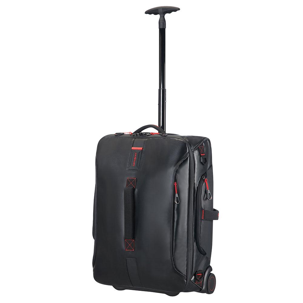 Samsonite Paradiver Light Duffle Wheels 55 Strict Cabin Black - Handbagage koffers