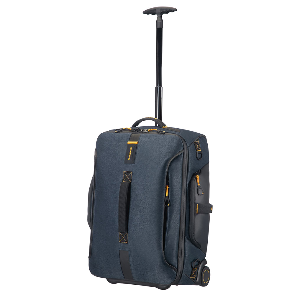 Samsonite Paradiver Light Duffle Wheels 55 Backpack Jeans Blue