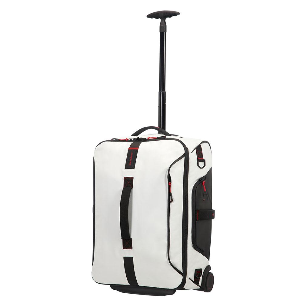 Samsonite Paradiver Light Duffle Wheels 55 Backpack White