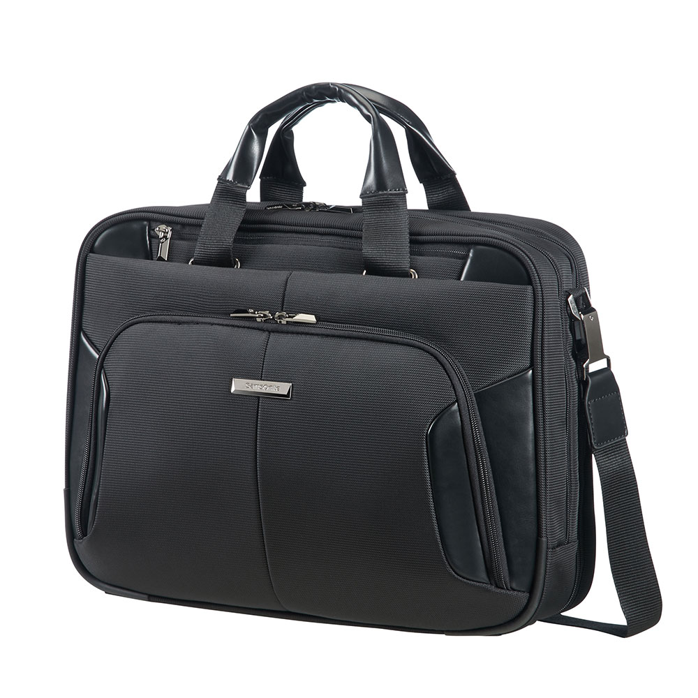 Samsonite XBR Bailhandle 2 Compartiments 15.6 Black