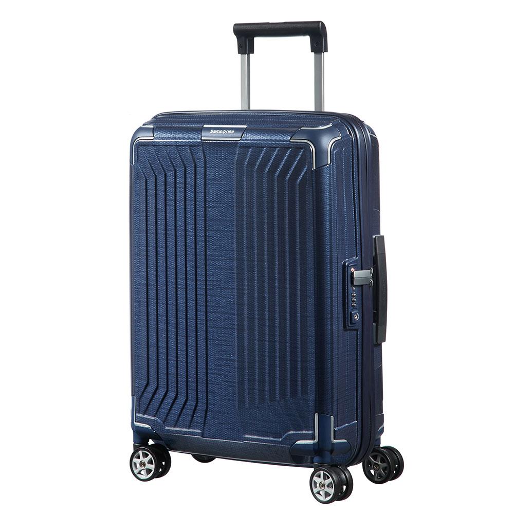 Samsonite Lite-Box Spinner 55 Deep Blue