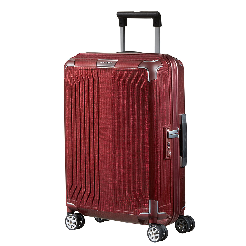 Samsonite Lite-Box Spinner 55 Deep Red