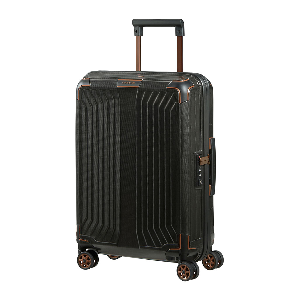 Samsonite Lite-Box Spinner 55 Black/Copper