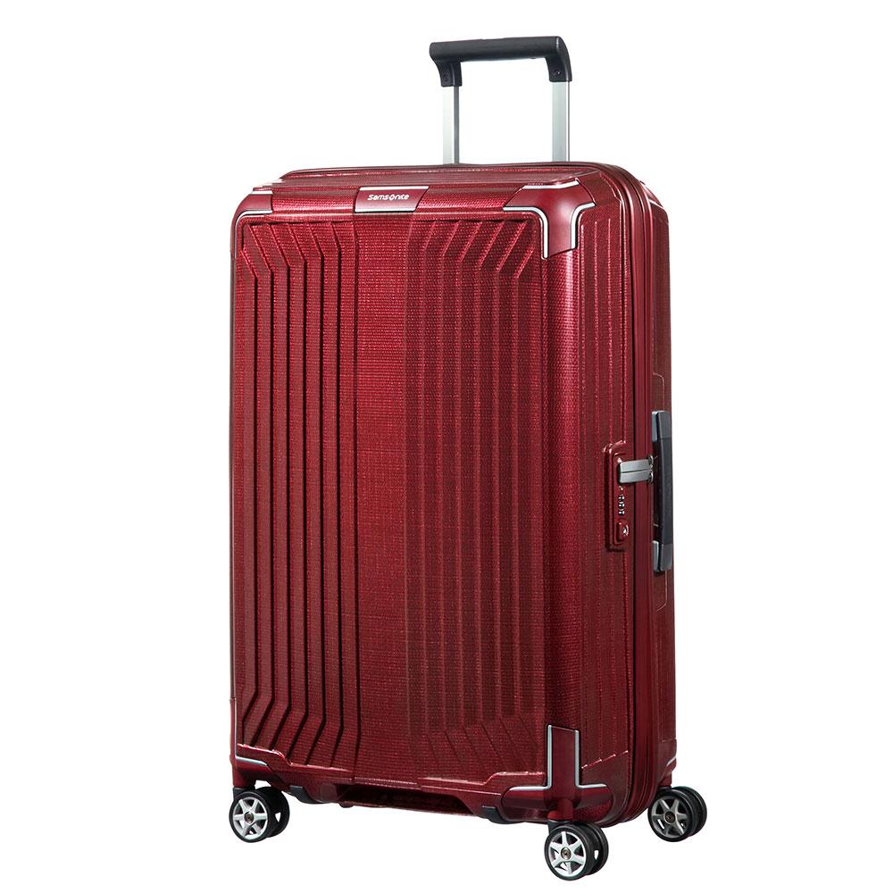 Samsonite Lite-Box Spinner 69 Deep Red