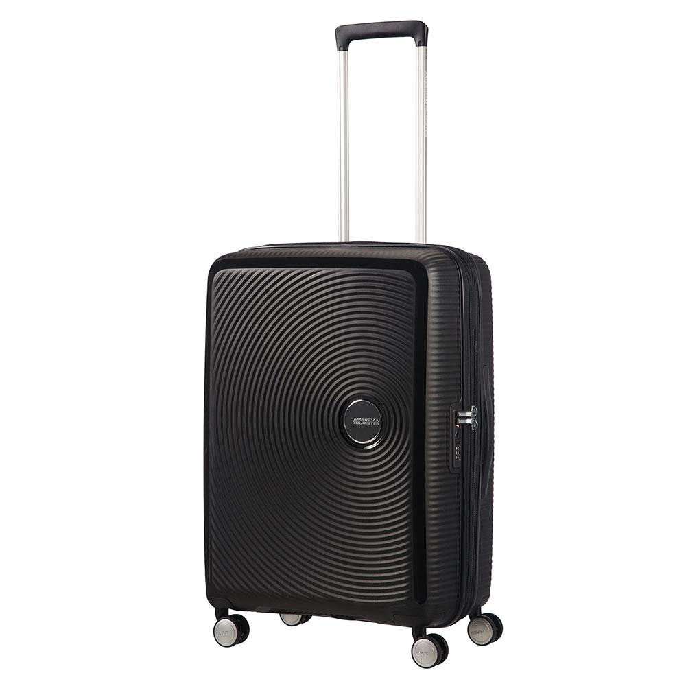 American Tourister Soundbox Spinner 67 Expandable Bass Black