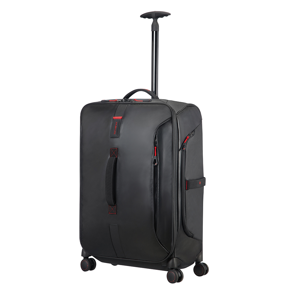 Samsonite Paradiver Light Spinner Duffle 67 Black Samsonite Zachte Koffers