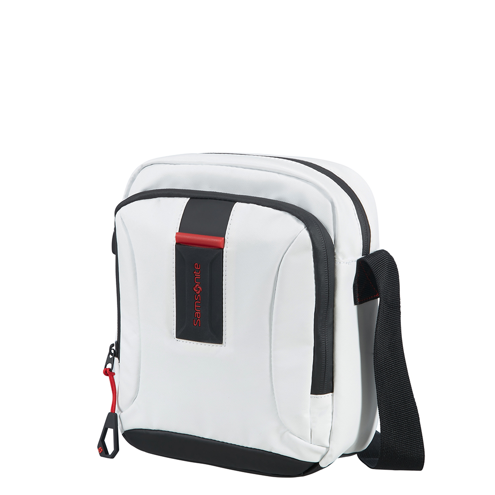 Samsonite Paradiver Light Cross Over S White Samsonite Schoudertassen