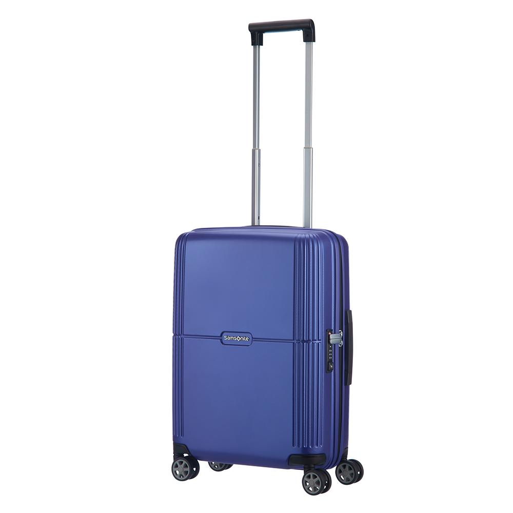 Harde Koffers Samsonite Samsonite Orfeo Spinner 55 Cobalt Blue