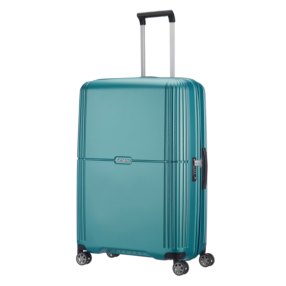 Samsonite Orfeo Spinner 75 Blue Lagoon Samsonite Harde Koffers