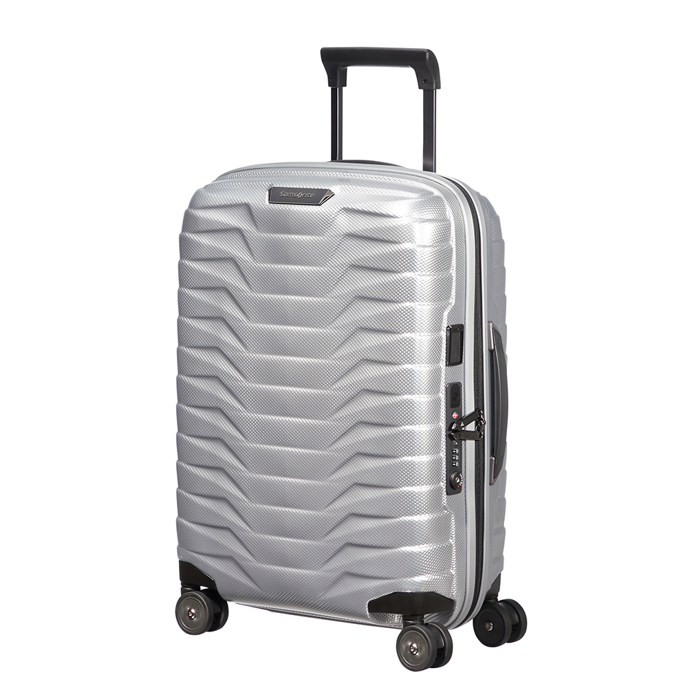 Samsonite Proxis Spinner 55 Expandable Silver