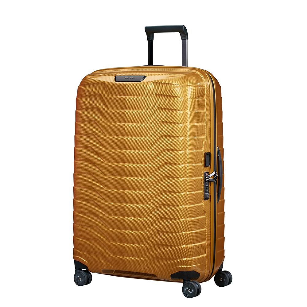 Samsonite Proxis Spinner 75 Honey Gold