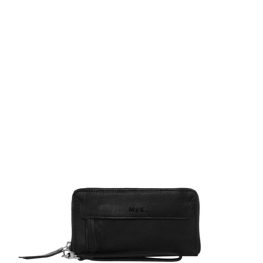 MyK Spendit Purse Black