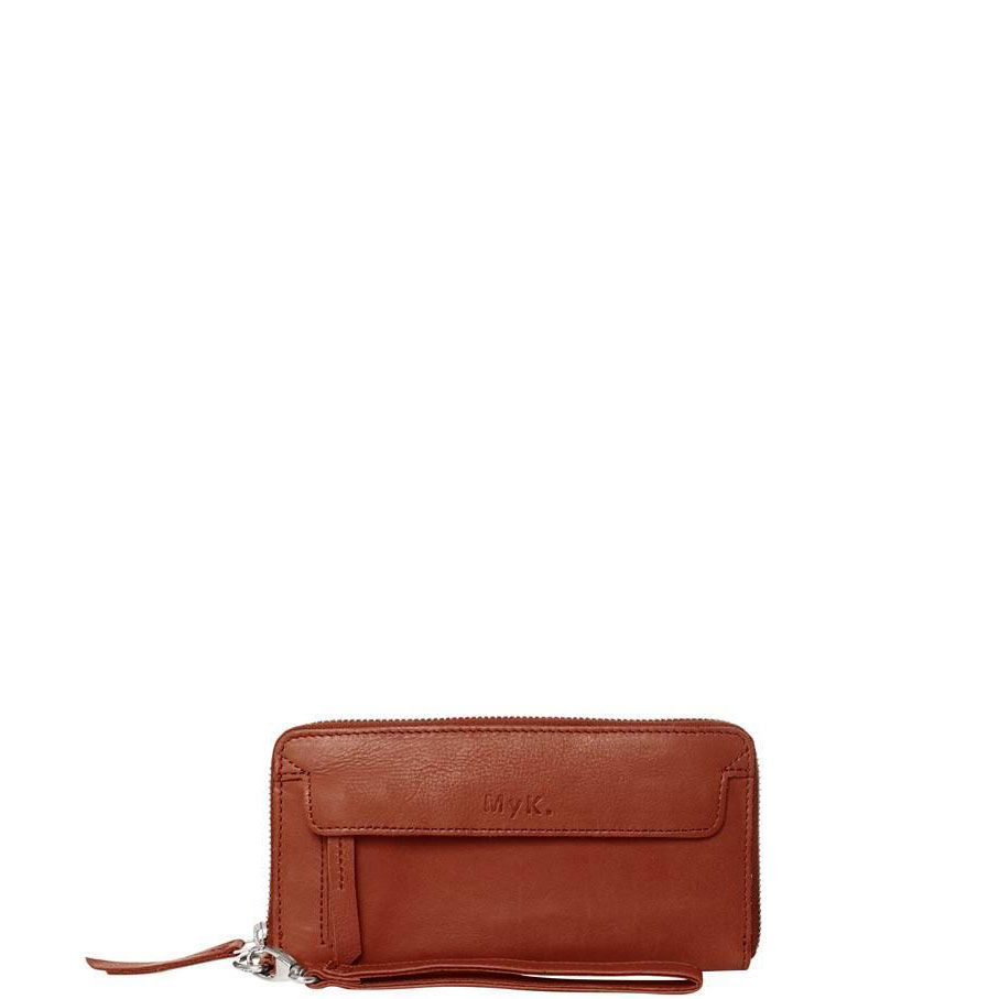 MyK Spendit Purse Chestnut