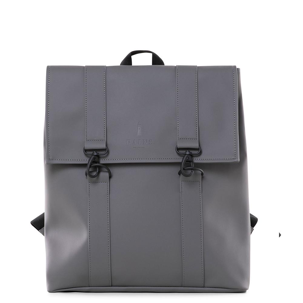 Rains Original MSN Bag Rugtas Charcoal
