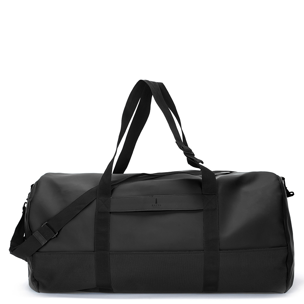 Rains Original Travel Duffel Bag Black