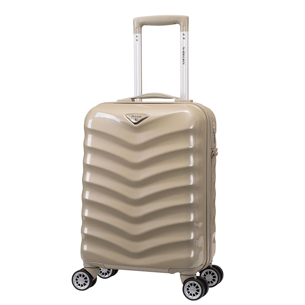 Decent Exclusivo-One Handbagage Trolley 55 Champagne