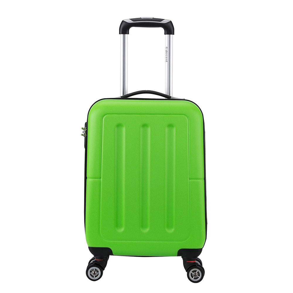 Decent Neon Fix Handbagage Koffer 55 Appelgroen