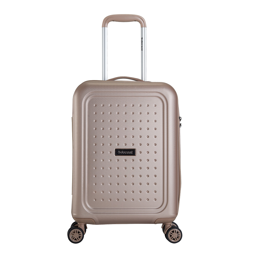 Decent Maxi-Air Handbagage Trolley 55 Zalm Roze